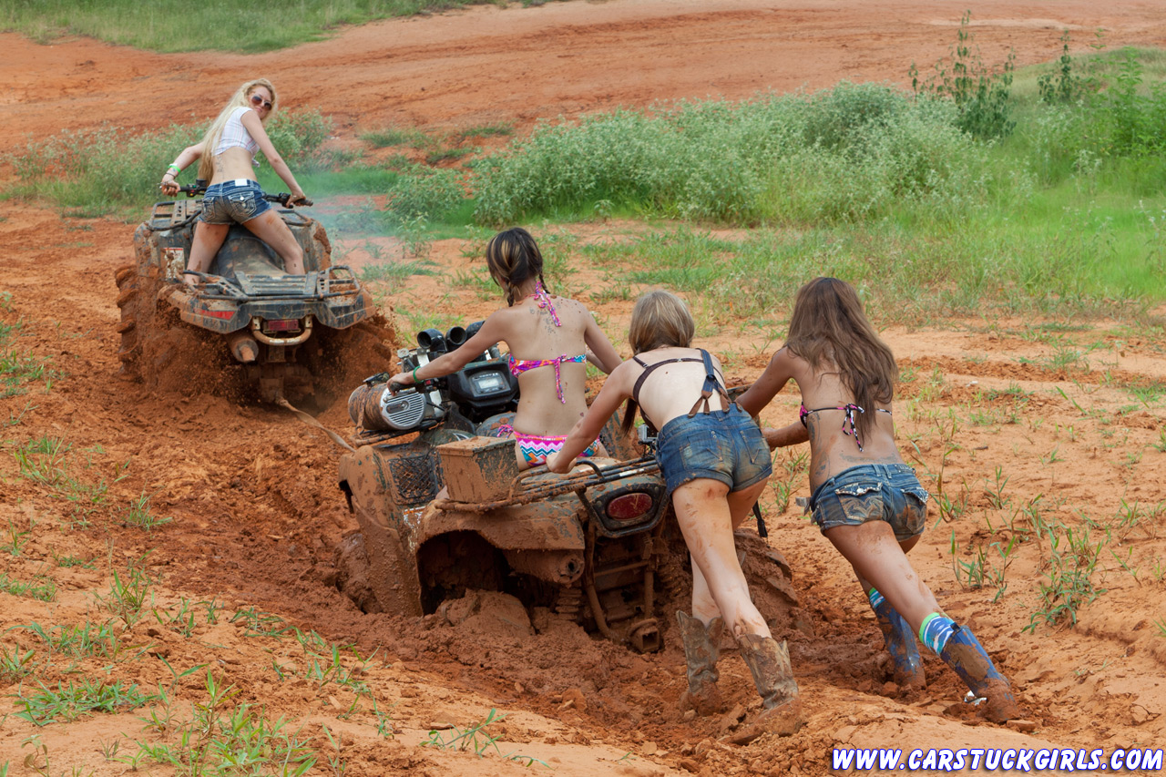 from Bishop naked women on four wheelers